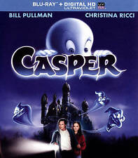 Casper (Blu-ray Disc, 2014, Includes Digital Copy; UltraViolet)Brand New
