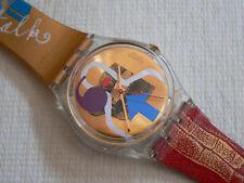 1997 Swatch Watch Lipstick Designed By Donna Muir & Su Huntley GK248 New