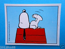figuritas figurines figuren snoopy figurine i love snoopy n. 61 panini 1980-90