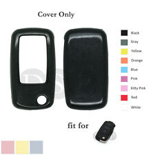 Paint Metallic Color Shell Cover fit for VOLKSWAGEN SKODA SEAT Remote Key BK
