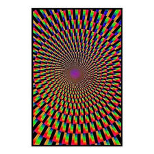 MIND'S EYE -  BLACKLIGHT POSTER - 24X36 FLOCKED ILLUSION 1882