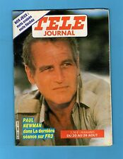 ►TELE JOURNAL 456/1983 - PAUL NEWMAN - JEAN PIERRE CASSEL