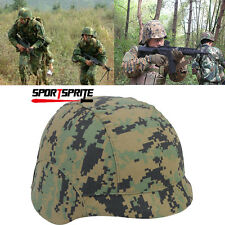 TACTICAL MILITARY M88 PASGT KELVER SWAT HELMET COVER Digi Woodland