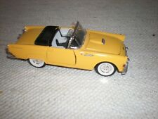 1955 DIE CAST YELLOW THUNDERBIRD SS5718 GREAT CONDITION