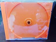 50 Pack Premium Standard Single Orange CD DVD Blu Ray Jewel 10mm Cases Unique