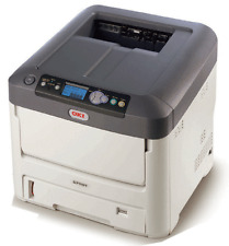 OKI C711WT White Toner Printer, Ideal For T Shirts Dark And Color Papers