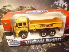 Welly® Urban Spirit Mercedes Kipper Straßenbau Pritschen -  LKW ca.12,5cm lang