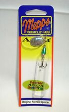 Mepps 1/10 oz Aglia Brite Spinner Green/Silver Original Spinner Fishing Lure