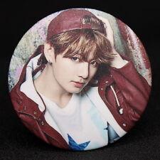 Fashion Kpop Bts Bangtan Boys JUNG KOOK Badge Brooch Chest Pin Souvenir Gift