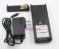 5500mAh LI-ION NTN7144 BATTERY + CHARGER for MOTOROLA MTS2000 MTX838 MTX8000