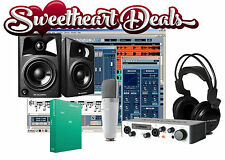 M AUDIO Home Recording PRO Bundle Studio Package M Audio AV42 Monitors!