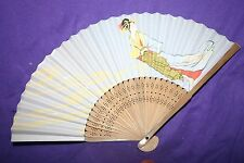 bamboo and paper  folding fan