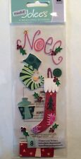 """A Touch Of Jolee's """"Christmas Stockings"""" Dimensional Stickers"""