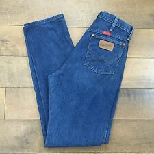 Vintage WRANGLER Womens 14MWZG Jeans High Waist Made In USA Farm Ranch 11 X 34