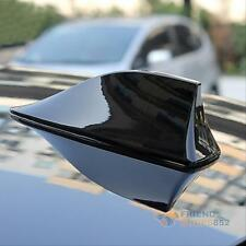 Auto Car Van SUV Auto Roof Shark Fin Antenna Aerial FM/AM RV Radio Signal Black