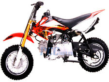 Free Shipping Coolster 213A New Red 110cc Fully Auto Kid/Youth Dirt Bike Red