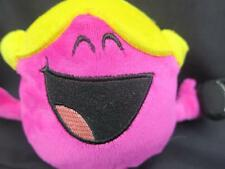LITTLE MISS CHATTERBOX PLUSH STUFFED ANIMAL PINK BLONDE HAIR CELL PHONE TOY