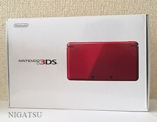 Near mint Nintendo 3DS Metallic Red Console almost brand new From Japan