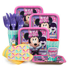 Minnie Mouse Disney Standard Kit (Serves 8) Birthday Party Supplies