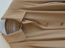 WOMEN COAT BY AGNONA CAMEL-COLOUR 100% PURE CASHMERE SIZE UK 16 / EU 44.