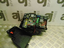 FORD C-MAX 1.6 LX TDCI 2006 FUSE BOX (CLIP BROKEN ON LID)