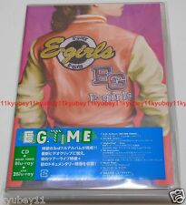 E-girls E.G. TIME Regular Edition CD 3 Blu-ray Japan RZCD-59765 4988064597659