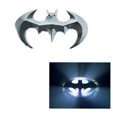 1PC Silver 3D decoration Metal bat car sticker cool badge emblem auto decal Best