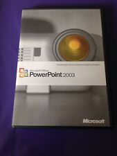 MICROSOFT POWERPOINT 2003 UPGRADE RETAIL VERSION GENUINE WITH PRODUCT KEY