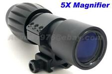 5X Magnifying Scope w/30mm Picatinny Rails Mount Ring for Aimpoint EOTech