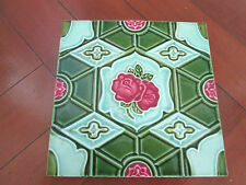 WONDERFUL VINTAGE DECORATIVE ART DECO TILE JAPAN