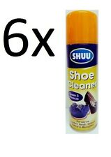 6x Shoe Boots Spray Cleaner For Leather Suede UGG Nubuck 250ml Cheap