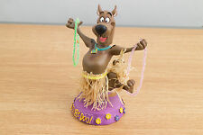 "Rare Hanna-Barbera Scooby-Doo (Scooby Doo) 6.5"" Hula Skirt and Lei Bobble Head"