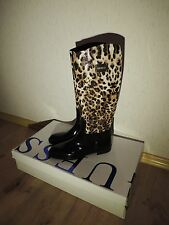 Genuine Guess Knee High Leopard Skin Boots