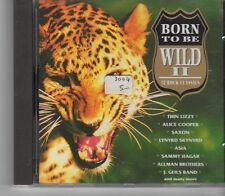 (GA259) Born To Be Wild II, 18 Rock Classics - 1993 CD