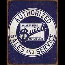 Metal Sign Buick Authorized Sales & Service (30 x 40 cm)