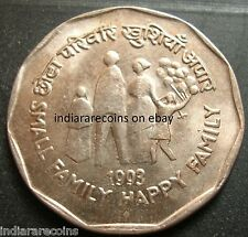 India Inde Indien 1993 Small Family Happy Family Baloons UNC New 2 Rs