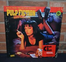 PULP FICTION - Original Soundtrack, Back To Black IMPORT VINYL + Download New!