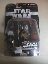 Star Wars Action Figure of PRINCESS LEIA Boushh Disguise ( SAGA 001 ) 3.75""
