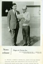MR HOLLADAY ANDY GRIFFITH LOOK-ALIKE AT STAGE 1 DESILU CAHUENGA '64 CBS TV PHOTO