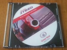 2012 GREAT WALL STEED S STAMPA INFO PACK KIT CD ROM + 50 immagini foto opuscolo