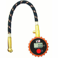 NEW MotoGP MOTO GP MOTORCYCLE CAR BIKE DIGITAL TYRE PRESSURE GAUGE - PSI BAR