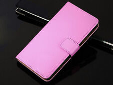 Genuine Leather Wallet Flip Case Cover For Sony Xperia Model Series