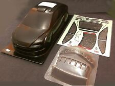 RC 1 10 EP Car 190mm CARBON Stampato CASSA CARROZZERIA FORD FOCUS Fit Tamiya