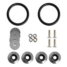 Titanium Quick Release Fasteners Kit For Car Bumpers Trunk Fender Hatch Lids