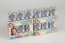 Flash Cubes - Sylvania Bluedot 48 Flashes 4 - three packs