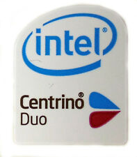 INTEL CENTRINO DUO STICKER LOGO AUFKLEBER 16x20mm (123)