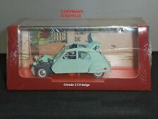 TINTIN BOOK COMIC CASTAFIORE EMERALD CITROEN 2CV DIECAST MODEL CLASSIC CAR