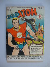 Captain Atom #3 VG Invisible Enemy