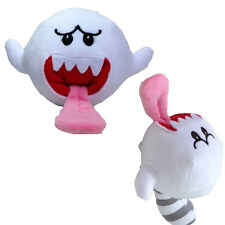 Super Mario Bros Boo White Ghost Plush Cool Stuffed Soft Birthday Gift Doll