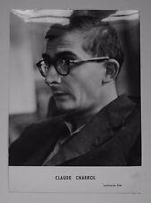 Claude Chabrol, photo Unifrance film, tirage argentique d'époque 1950s